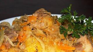 Традиционное блюдо польской и литовской кухни - Бигос