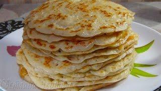 """Блины """" Царские """" (дрожжевые)/Pancakes """"Royal"""" (yeast)"""