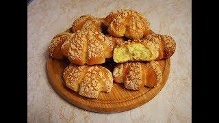 Булочки ДОРОЖНЫЕ пышные домашние булочки с КРОШКОЙ