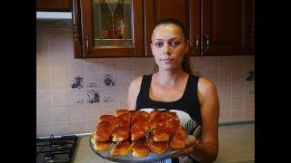 рецепт БУЛОЧКИ с КОРИЦЕЙ ЯБЛОКАМИ ОРЕХАМИ булочки тесто на булочки рецепт выпечка рецепты Buns