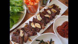 Корейская кухня: говядина на гриле по-корейски или сокоги гуи (소고기 구이)